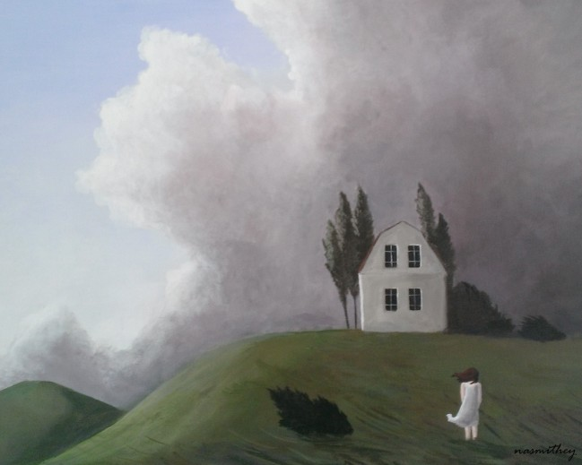 Paula Nasmith Wind Swept Hill