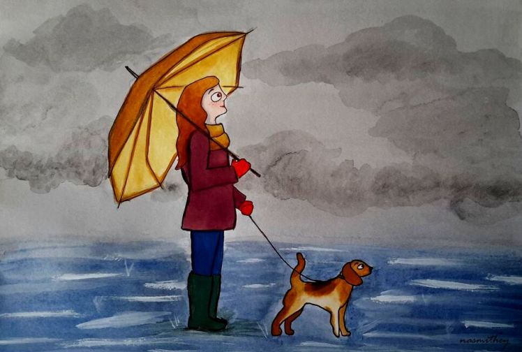 rainy-walk