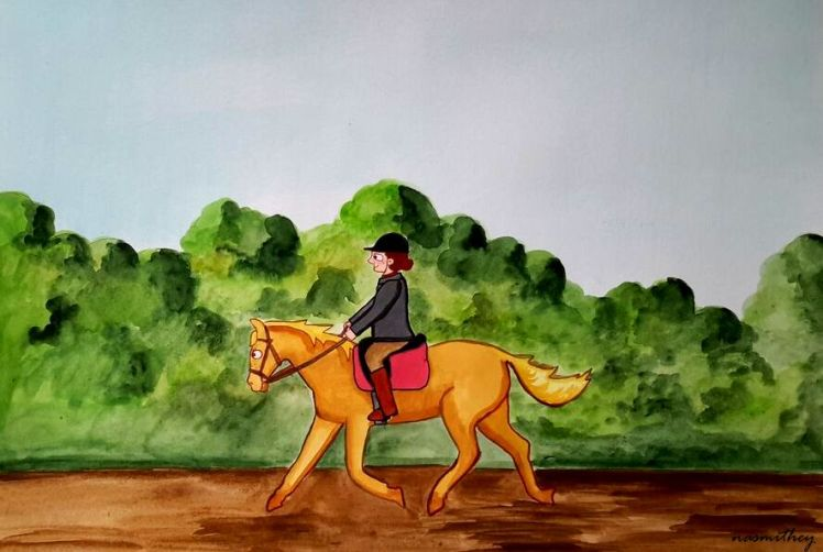 good day for a ride by paula nasmith