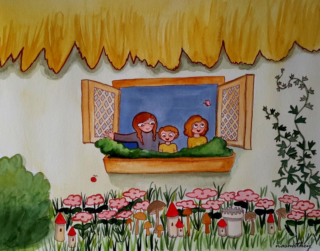 under the window by paula nasmith
