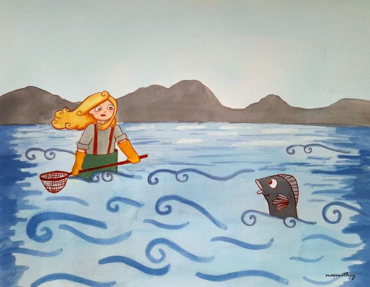Open Ocean Paula Nasmith
