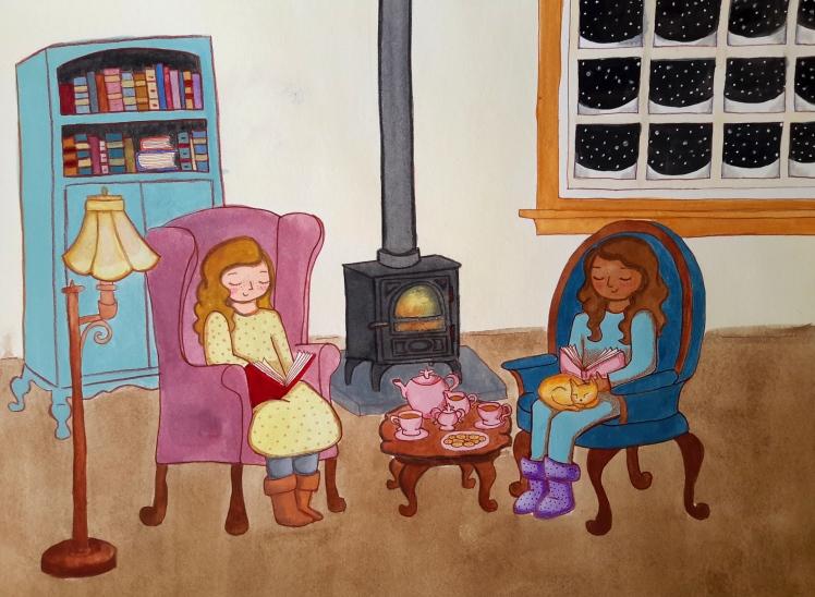 Winter Reading Paula Nasmith