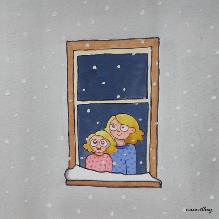 It's Snowing by Paula Nasmith