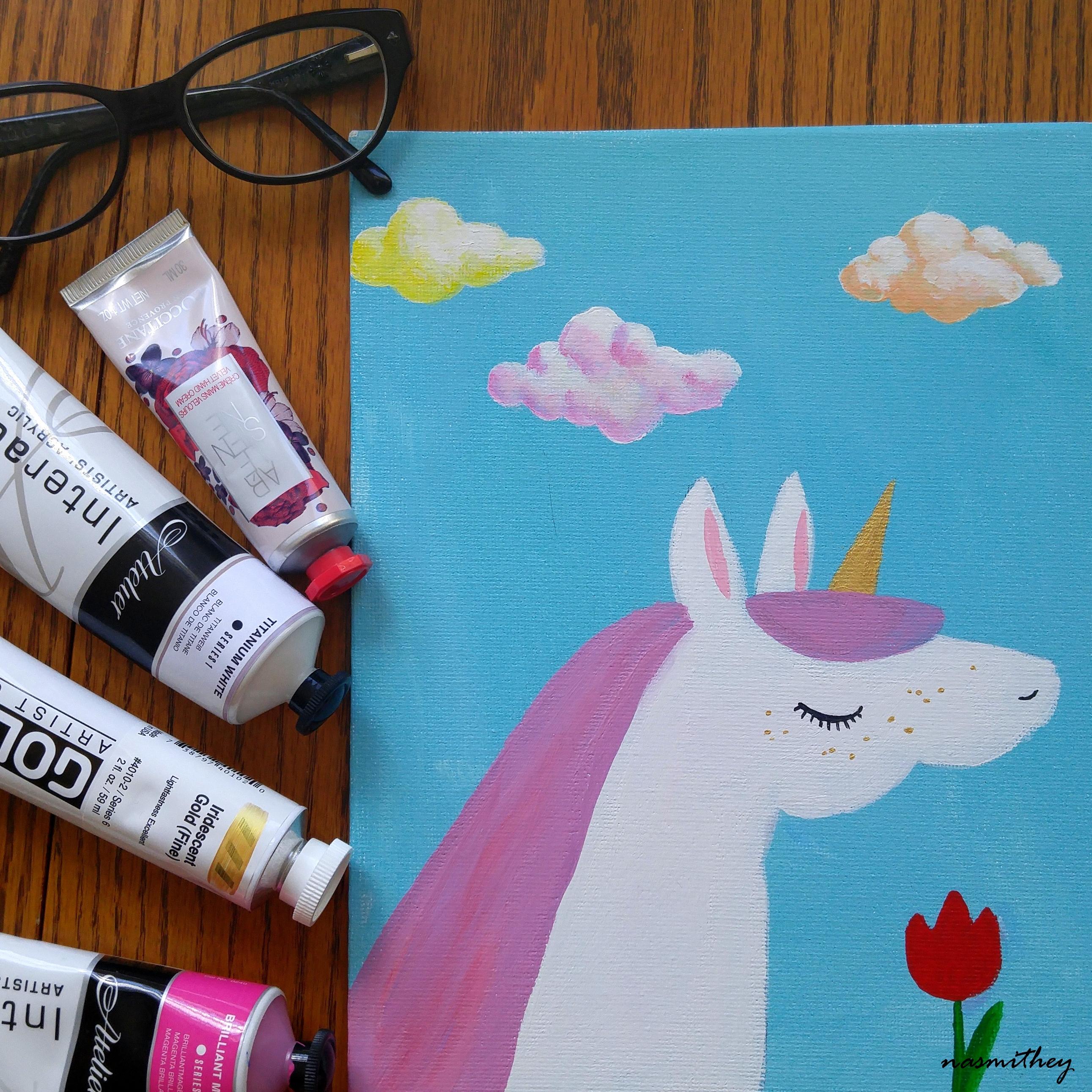 unicorn by paula nasmith