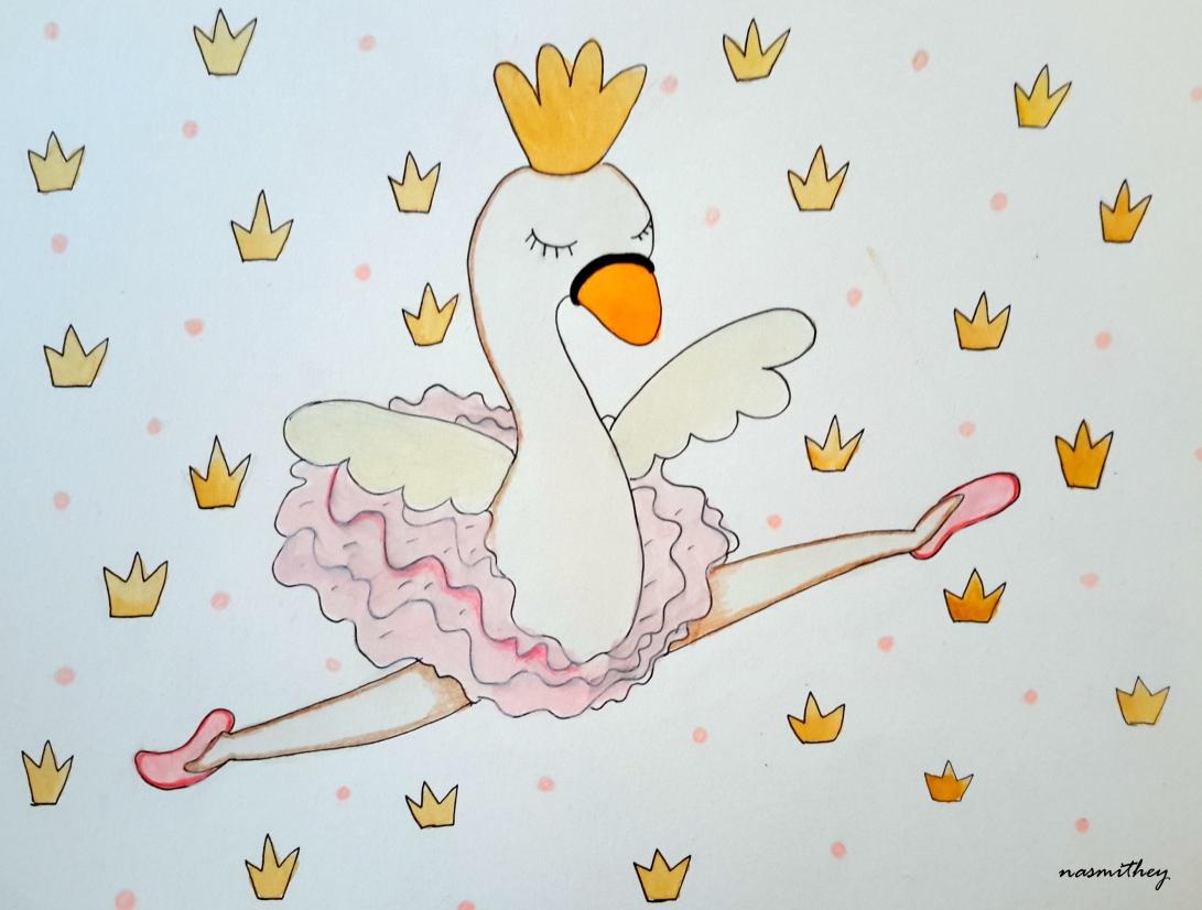 winter ballet by paula nasmith