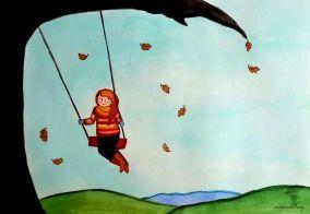 Fall Moment by Paula Nasmith