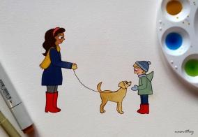 Hello Little Dog by Paula Nasmith