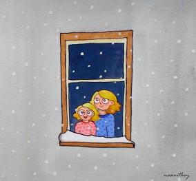 It's Snowing by Paula Nasmith