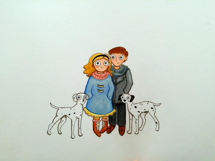 101 Dalmatians - Paula Nasmith