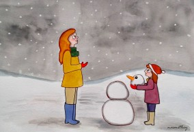 A December Day by Paula Nasmith