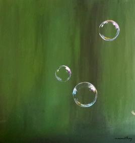 Acrylic Bubbes - Paula Nasmith