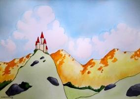 Chrestomanci Castle by Paula Nasmith
