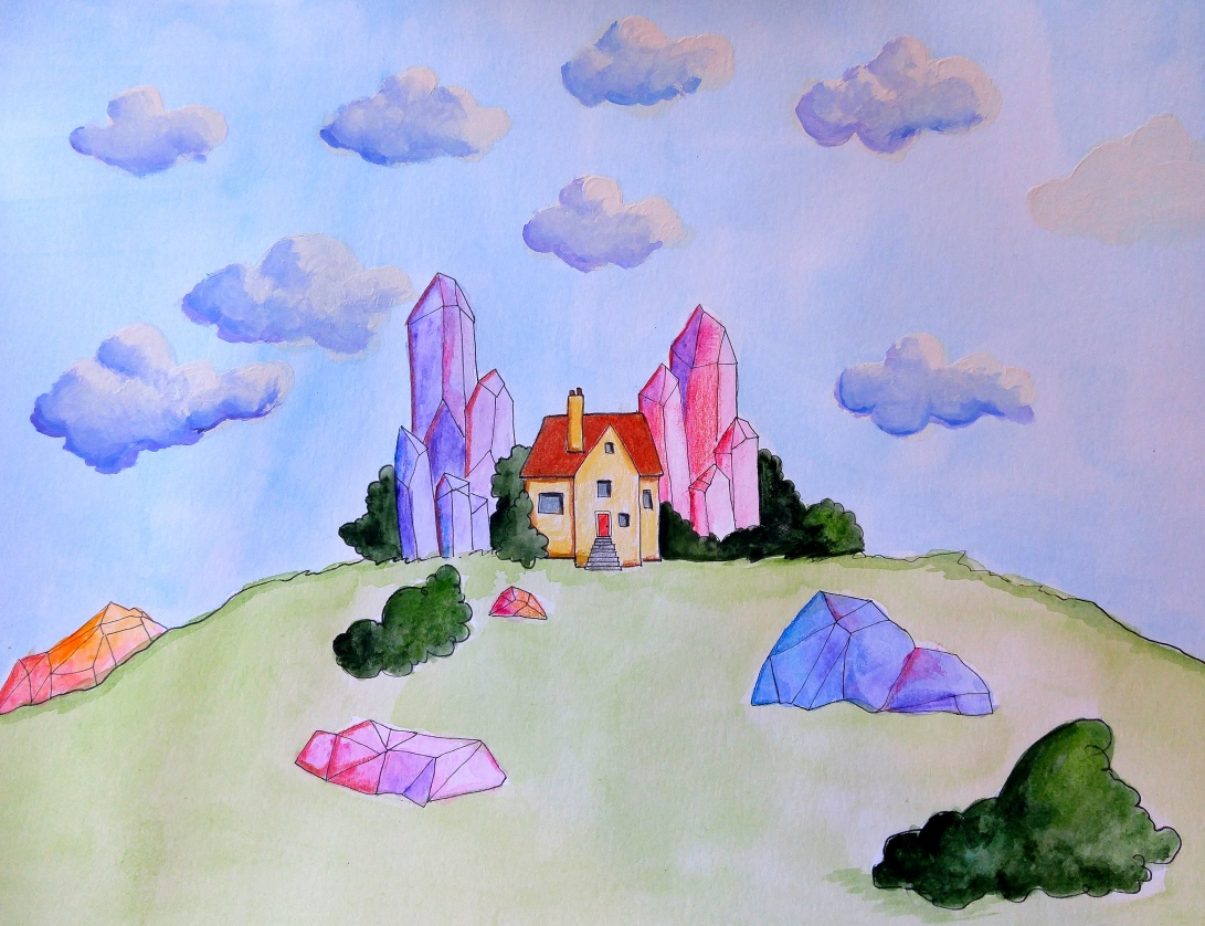 Crystal Cottage by Paula Nasmith