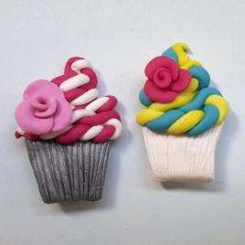 Cupcake Magnets - Paula Nasmith