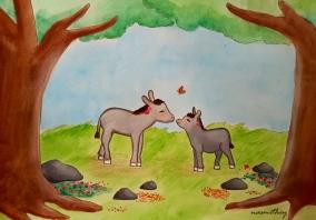 Donkey Love by Paula Nasmith