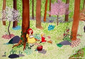 In the Garden by Paula Nasmith