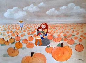 Pumpkin Patch by Paula Nasmith - Copy