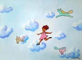 Sky Dancer by Paula Nasmith