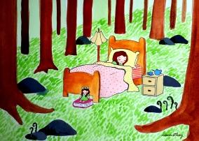 Sleeping Forest by Paula Nasmith