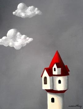 Stormy Castle -Paula Nasmith