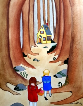 Through the Woods by Paula Nasmith